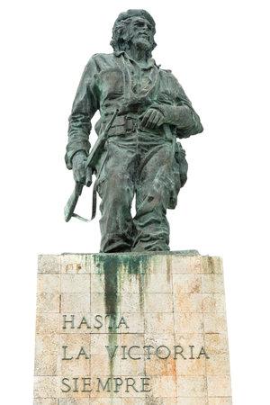 che guevara: The Che Guevara mausoleum in Santa Clara, Cuba isolated on white