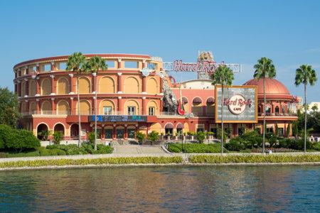 food state: The Hard Rock Cafe at Universal Orlando Resort in Florida