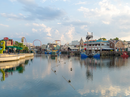 General view of the  Universal Studios Florida theme park