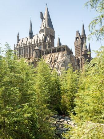 alfarero: El Castillo de Hogwarts en Universal Studios Islands de parque temático Adventure