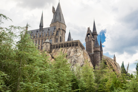 El Castillo de Hogwarts en Universal Studios Islands of Adventure