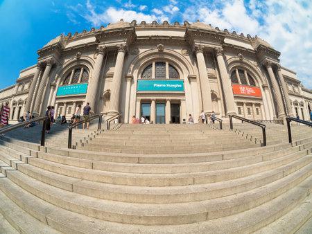 visitors: Visitors at The Metropolitan Museum of Art in Manhattan