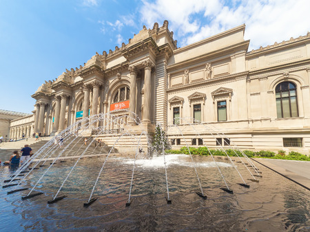 The Metropolitan Museum of Art in in New York Editorial