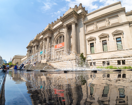 The Metropolitan Museum of Art in New York Redakční