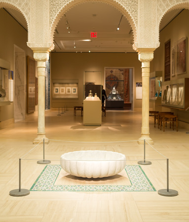 art museum: Islamic art gallery at the Metropolitan Museum of Art in New York