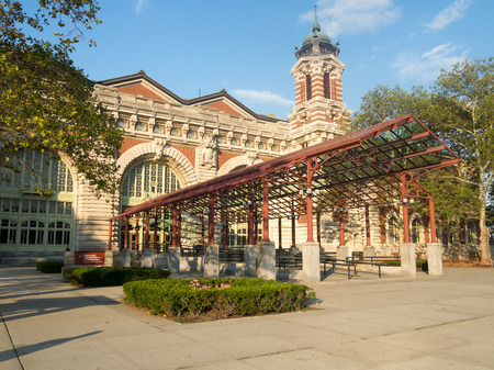 island: The Ellis Island Museum of Immigration in New York