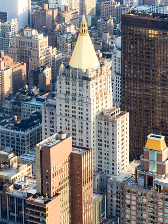 gilbert: The New York Life Building in New York City Stock Photo
