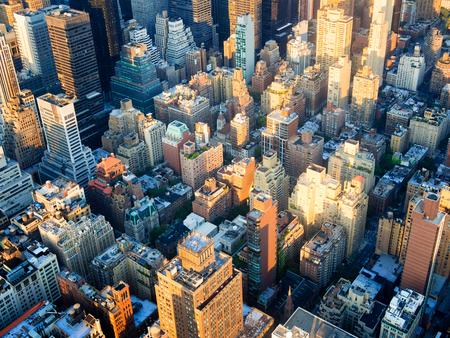El paisaje urbano de la ciudad de Nueva York. Foto de archivo