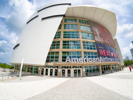 sports venue: The American Airlines Arena in Miami, home to the Miami Heat and a famous concert venue