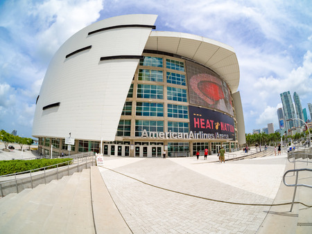 arena: The American Airlines Arena, home to the Miami Heat and a famous concert venue Editorial