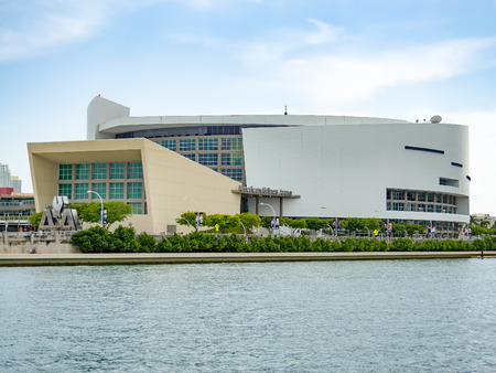 sports venue: The American Airlines Arena, home to the Miami Heat and a famous concert venue Editorial
