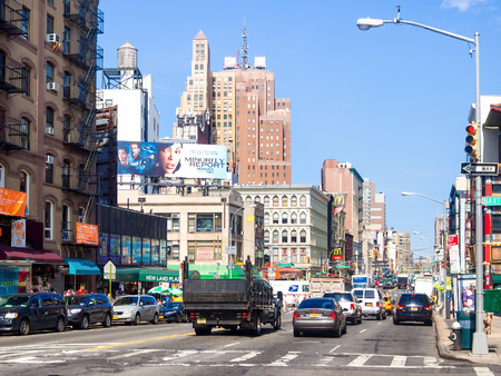 ny: Canal Street at Chinatown in New York City