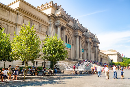 Das Metropolitan Museum of Art in New York City