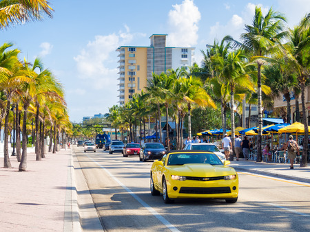 chevy: Fort Lauderdale beach in Florida on a summer day