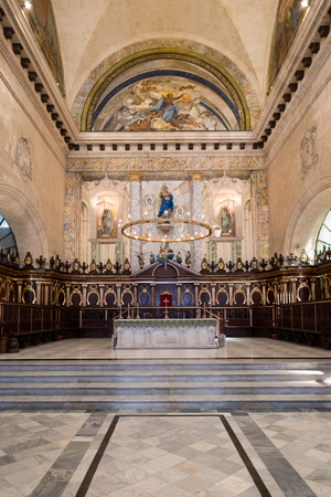 altar: The altar at the Cathedral of Havana in Cuba
