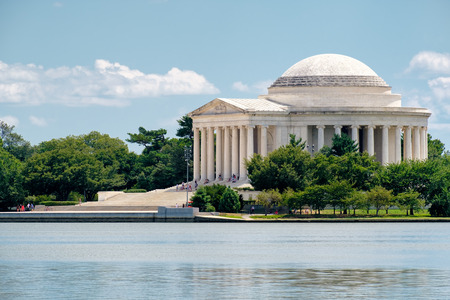 The Jefferson Memorial in Washington D.C. Stock Photo