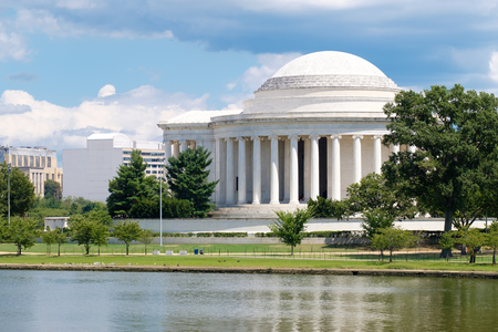 jefferson: The Jefferson Memorial and the Tidal Basin in Washington D.C. Editorial