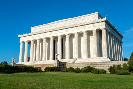 abraham: The Lincoln Memorial in Washington D.C. on a sunny summer day