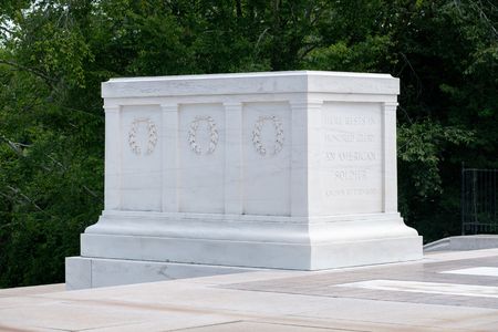 military cemetery: The Tomb of the Unknown Soldier at Arlington National Cemetery Editorial