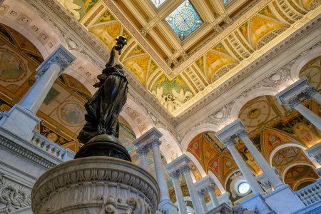 scientific literature: Interior of the Library of Congress in Washington D.C.