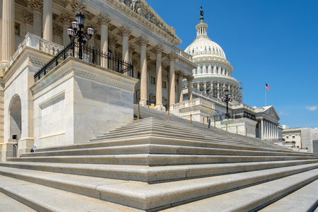 The United States Capitol in Washington D.C. Banque d'images