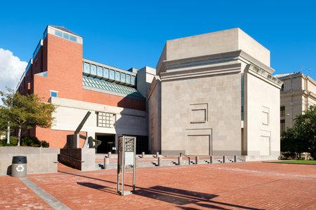 memorial: The United States Holocaust Memorial Museum in Washington D.C.