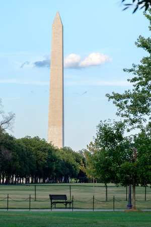 washington monument: The Washington Monument at the National Mall in Washington D.C.