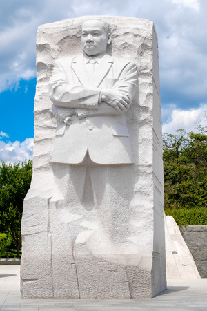 luther: The Martin Luther King Jr. National Memorial next to the Tidal Basin in Washington D.C. Editorial