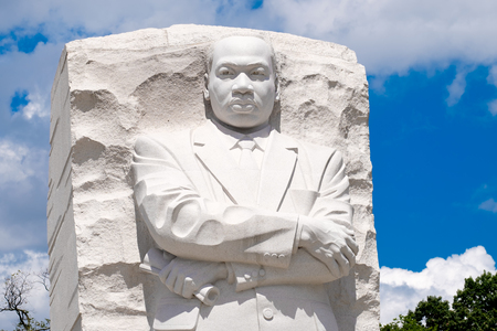 The Martin Luther King Jr. National Memorial next to the Tidal Basin in Washington D.C.
