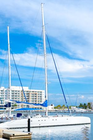 varadero: The beautiful Marina at Varadero beach in Cuba