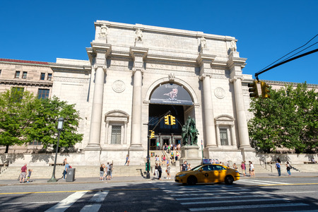 cultural history: The American Museum of Natural History in New York City