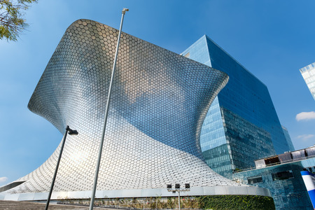 art museum: The modern Soumaya art museum in Mexico City Editorial
