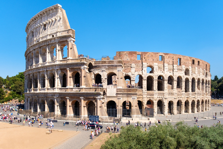 The Colosseum, a symbol of antiquity and of the city of Rome