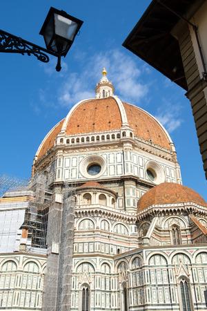 The Basilica di Santa Maria del Fiore, the Cathedral of Florence Stock Photo