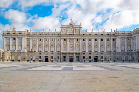 The Royal Palace of Madrid also known as the East Palace