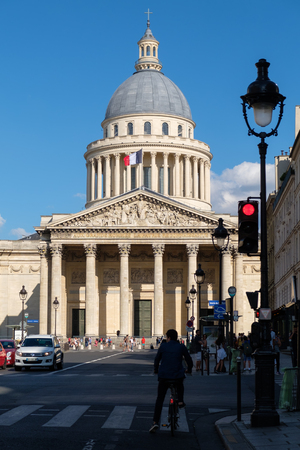 The Pantheon, a landmark of Paris and  the burial place of many famous frenchmen