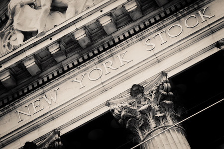 The New York Stock Exchange at Wall Street in New York City Editorial