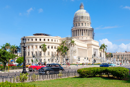 The Capitol building in downtown Havana Editorial