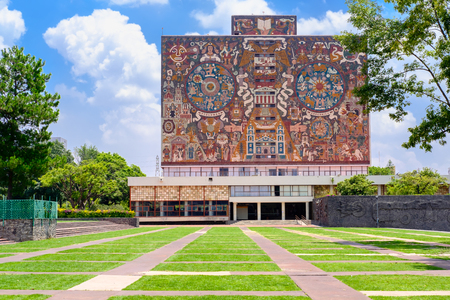 The Central Library at the National Autonomous University of Mexico