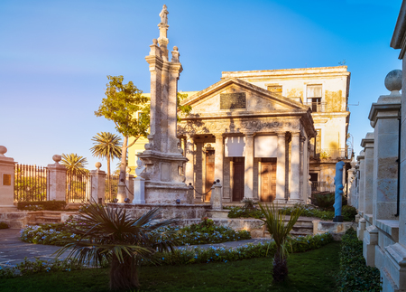 El Templete in Old Havana, a colonial monument marking the site of the city foundation