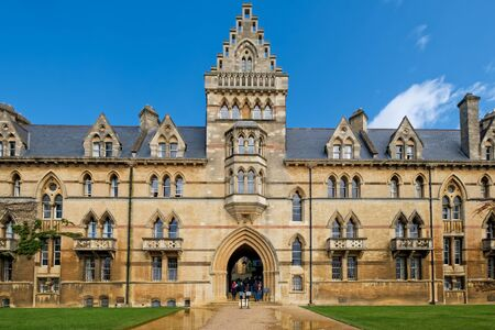 The Christ Church College at the University of Oxford in the UK