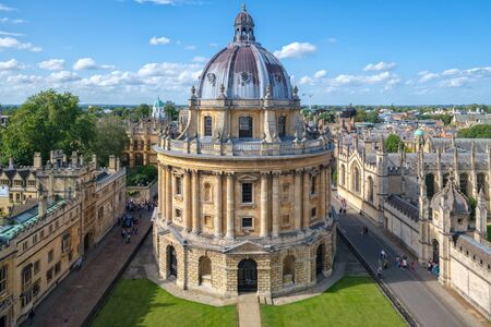 The Radcliffe Camera, a symbol of the University of Oxford Imagens