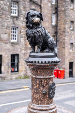 Statue of Greyfriars Bobby, a symbol of the city of Edinburgh