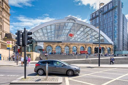 Lime Street train station in Liverpool