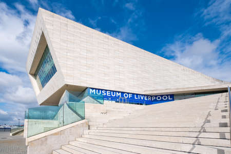 The Museum of Liverpool on a sunny summer day