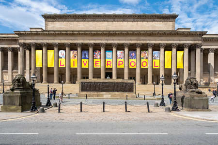 St George's Hall, a symbol of the city of Liverpool