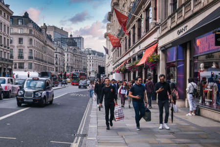 Regent Street in London , one of the world most prestigious shopping and lifestyle destinations