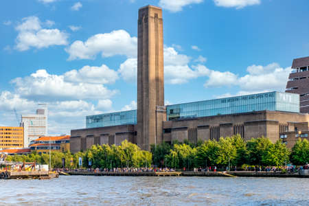 The Tate Modern in London, one of the world most prestigious modern art museums