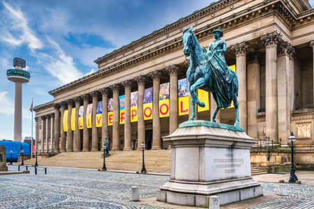 St George's Hall, a landmark venue at the Liverpool city center Editöryel