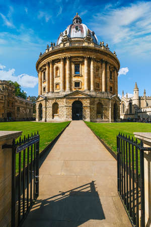The Radcliffe Camera, a symbol of the city and the University of Oxford Stok Fotoğraf